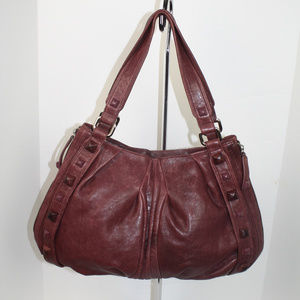 Beautiful Junior Drake Lambskin Handbag EUC